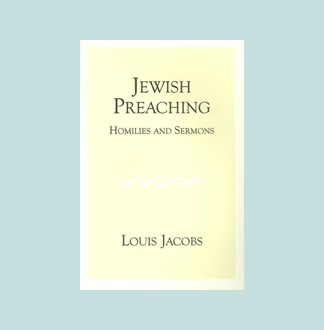 Jewish Preaching: Homilies and Sermons | Jewish Book Council